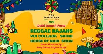 Goa Sunsplash 2019 // Delhi Launch Party - Goa Sunsplash | India's Biggest Reggae Festival