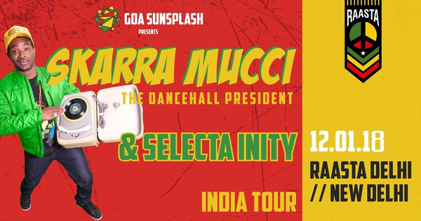 Goa Sunsplash presents Skarra Mucci (Jamaica) - Goa Sunsplash 2019 | India's Biggest Reggae Festival