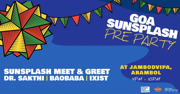 Goa Sunsplash 2019 // Goa Pre-Party at Twice in Nature, Arambol - Goa Sunsplash | India's Biggest Reggae Festival
