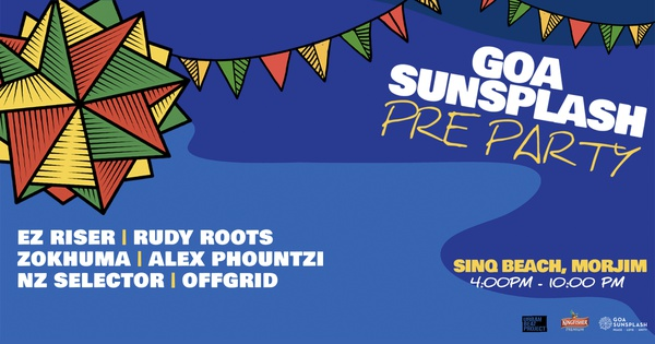 Goa Sunsplash 2019 // Goa Pre-Party at Sinq, Morjim - Goa Sunsplash | India's Biggest Reggae Festival