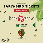 Early Bird Tickets Out Now! - Goa Sunsplash 2019 | India's Biggest Reggae Festival